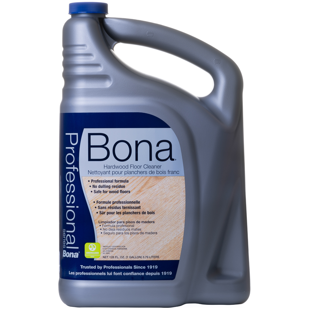 Split Spray Floor Mop: Bona ProSeries Hardwood Floor Cleaner, 1-Gal Refill
