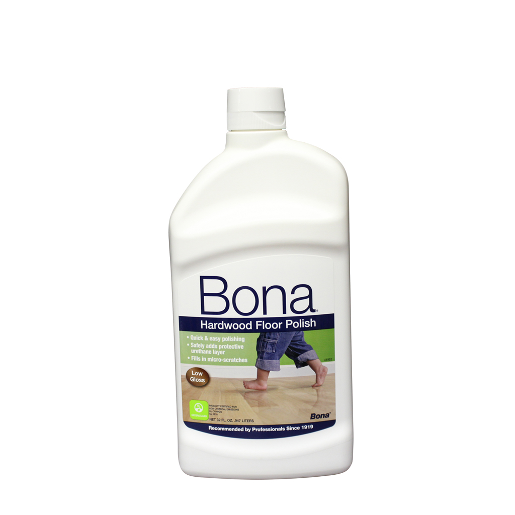 Bona Hardwood Floor Polish Low Gloss 32 Oz