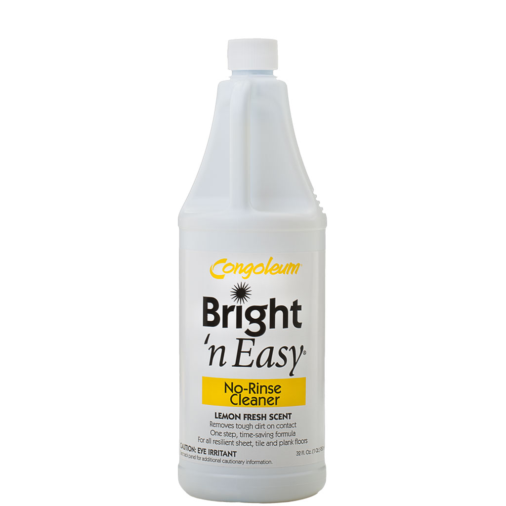 Congoleum Bright N Easy No Rinse Cleaner Concentrate 32 Oz