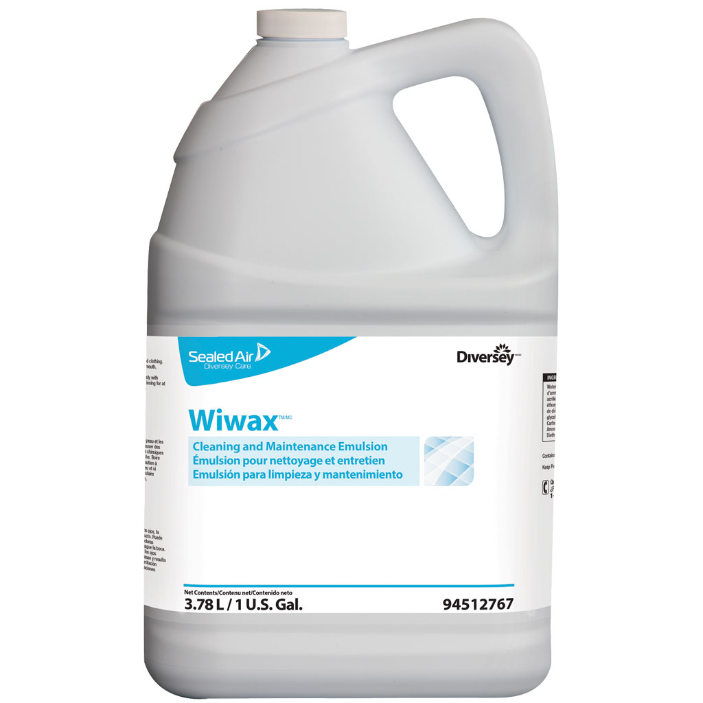 Diversey Wiwax Cleaning And Maintenance Emulsion 1 Gal