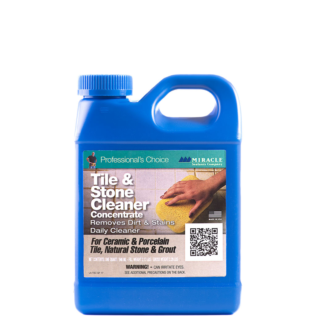 Miracle Tile Amp Stone Cleaner Quartmiracle Stone Tile Care