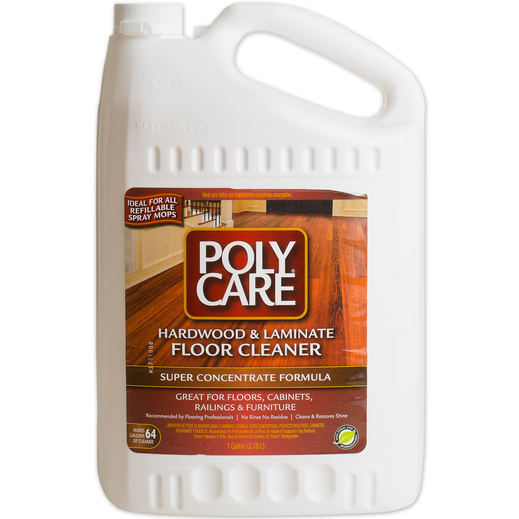 Laminate Wood Flooring Cleaner: PolyCare SUPER CONCENTRATE Wood And Laminate Floor Cleaner