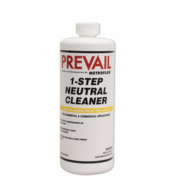 Prevail METROFLOR 1-Step Neutral Cleaner Concentrate, 1-Quart