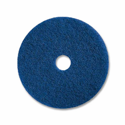 "Prime Source BLUE 13"" Floor Cleaning Pad"