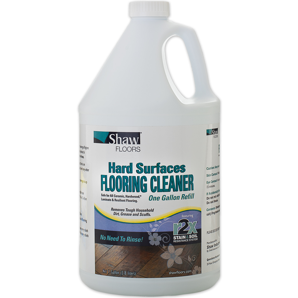 Shaw R2x Hard Surface Floor Cleaner 1 Gal Refill