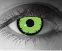 Angelic Green Theatrical Contact Lenses