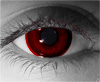 Blood red  RX Theatrical Contact Lenses