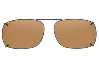 Cocoons L319 Clip-Ons Square Sunglasses