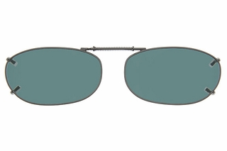 Cocoons L4139 Clip-Ons Rectangle Sunglasses