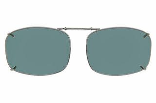 Cocoons L4169 Clip-Ons Rectangle Sunglasses