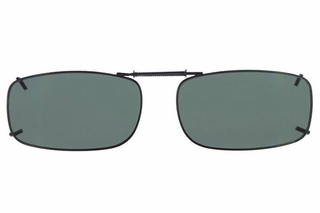 Cocoons L4188 Clip-Ons Rectangle Sunglasses
