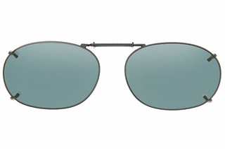 Cocoons L488 Clip-Ons Rectangle Sunglasses
