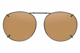 Cocoons L508 Clip-Ons Round Sunglasses