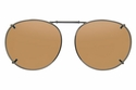 Cocoons L509 Clip-Ons Round Sunglasses
