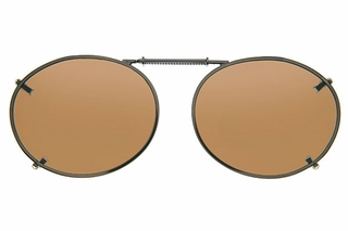 Cocoons L608 Clip-Ons Oval Sunglasses