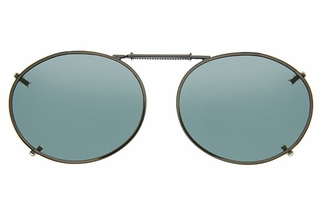 Cocoons L609 Clip-Ons Oval Sunglasses