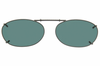 Cocoons L6109 Clip-Ons Oval Sunglasses