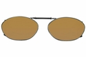 Cocoons L6128 Clip-Ons Oval Sunglasses