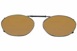 Cocoons L6129 Clip-Ons Oval Sunglasses