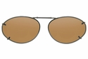 Cocoons L6138 Clip-Ons Oval Sunglasses