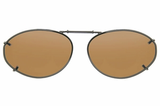 Cocoons L6158 Clip-Ons Oval Sunglasses
