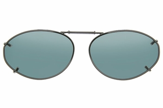 Cocoons L6159 Clip-Ons Oval Sunglasses