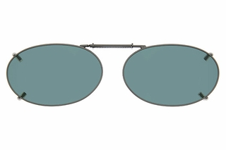 Cocoons L668 Clip-Ons Oval Sunglasses