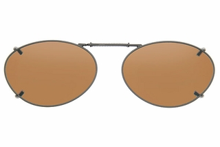 Cocoons L689 Clip-Ons Oval Sunglasses