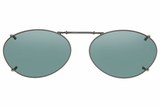 Cocoons L699 Clip-Ons Oval Sunglasses