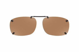 Cocoons LR2159 Rimless Clip-Ons Square Sunglasses