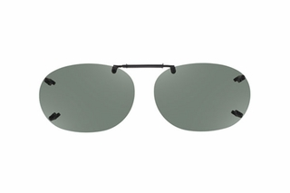 Cocoons LR2258 Rimless Clip-Ons Square Sunglasses