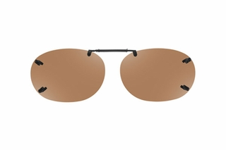 Cocoons LR2259 Rimless Clip-Ons Square Sunglasses