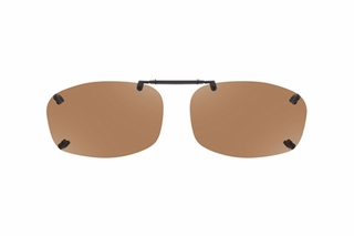 Cocoons LR2539 Rimless Clip-Ons Square Sunglasses