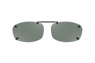 Cocoons LR2558 Rimless Clip-Ons Square Sunglasses