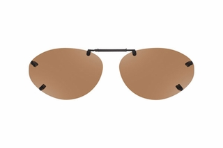 Cocoons LR2659 Rimless Clip-Ons Oval Sunglasses