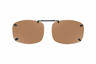 Cocoons LR2739 Rimless Clip-Ons Square Sunglasses