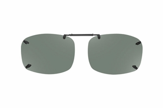 Cocoons LR2758 Rimless Clip-Ons Square Sunglasses