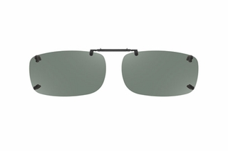 Cocoons LR2838 Rimless Clip-Ons Square Sunglasses