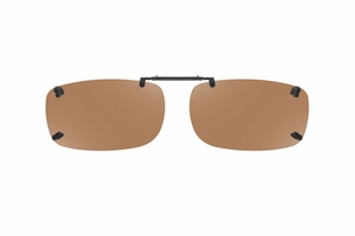 Cocoons LR2859 Rimless Clip-Ons Square Sunglasses