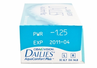 Focus Dailies Aqua ComFort Plus 30 Pack