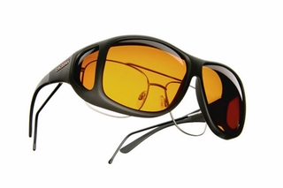 Low Vision Cocoons Aviator XL C202 OveRx Sunglasses