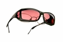 Low Vision Cocoons Wide Line ML C422 OveRx Sunglasses