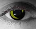 Moon and Star Theatrical Contact Lenses