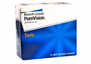 PureVision Toric Contact Lenses