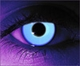 Rave Blue  RX Theatrical Contact Lenses