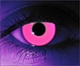 Rave Pink  RX Theatrical Contact Lenses