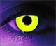 Rave Yellow  RX Theatrical Contact Lenses