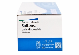 Soflens Daily Disposable With Aspheric Optics Contact Lenses