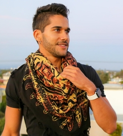 Abstract Tribal Extra Wide Scarf, Wrap or Shawl - in your choice of colors