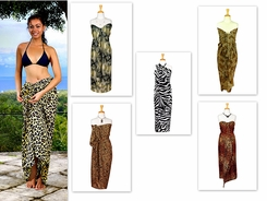 Animal Print Sarong Assorted Sarong